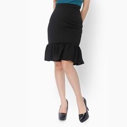 Chân váy đuôi cá màu đen
