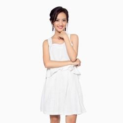 Chân váy ren xuất khẩu màu trắng Forever21 CJ200