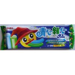 Combo 2 gói kẹo nhuộm lưỡi 2 màu : xanh và đỏ