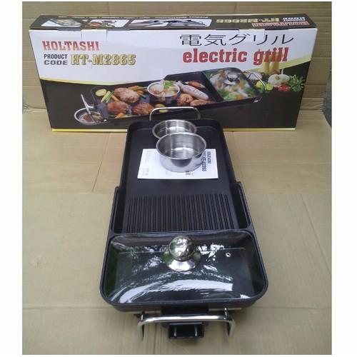 Vỉ nướng điện 3 ngăn Holtashi HT-M2865