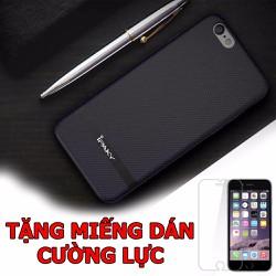 Ốp da dành cho iPhone6 Plus và  6s Plus Tặng 01 miếng dán cường lực