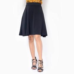 Chân váy xòe màu đen size M