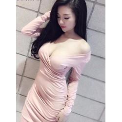 Đầm ôm body dài tay