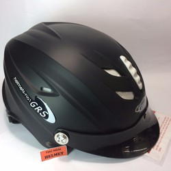 Mũ bảo hiểm GRS A760 đen nhám
