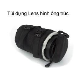 Túi đựng lens máy ảnh hình ống trúc size số 1