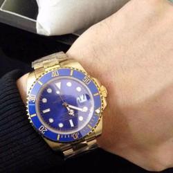 đồng hồ nam mặt xanh