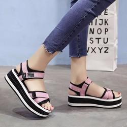 Giày Sandal Nữ kiểu dáng thời trang phong cách Hàn Quốc - XS0456