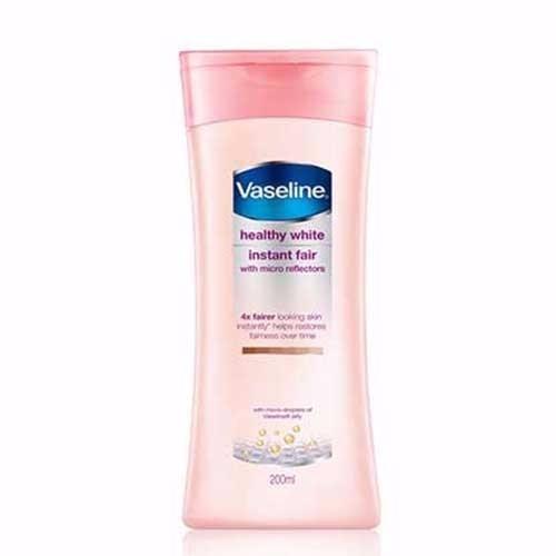 Sữa dưỡng thể Vaseline heathy white Instant Fair 200 ml 3