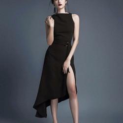 đầm đen dự tiệc quyến rũ, VNXK, hàng thiết kế