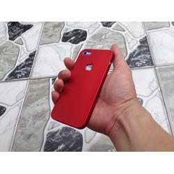 Ốp giả iPhone 7 đỏ cho iPhone 5 5S