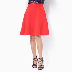 Chân váy xòe màu đỏ size M