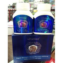 Viên uống nhau thai cừu Vitatree Sheep Placenta 60.000mg 120 viên
