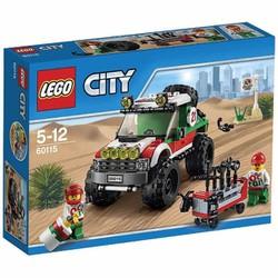 Đồ chơi xếp hình Lego City 60115 - Xe đua địa hình