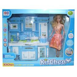 Bộ đồ chơi nhà bếp cho bé 6818A - Búp bê nấu ăn