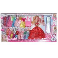 Búp bê cho bé 665A - Beautiful Girl và bộ sưu tập đầm dạ hội