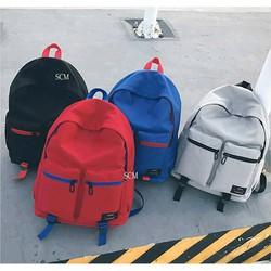 Balo đi học đi chơi 2 túi
