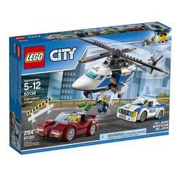 Đồ chơi xếp hình Lego City 60138 - Cuộc truy đuổi tốc độ