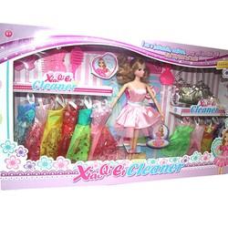 Búp bê cho bé B8803 - Nàng búp bê Happy Girl và bộ sưu tập váy áo