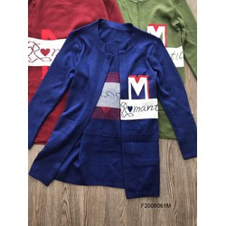 Áo khoác len form dài chữ M tay dài hàng nhập!  MS: S200827 Gs: 160k