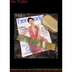 Thắt lưng nữ mang jum thiết kế kiểu vảy cá sành điệu nổi bật TLD69