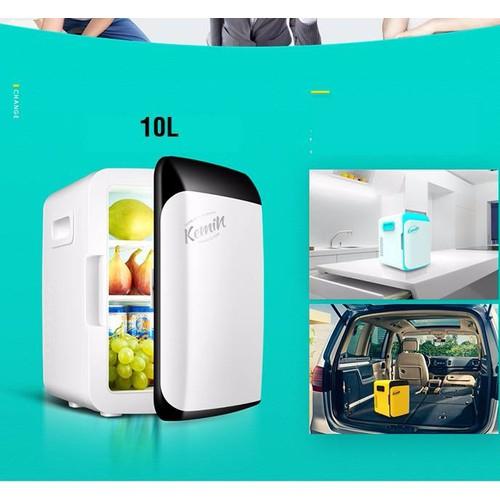 Tủ lạnh mini Kemi 10L cho xe hơi - 11058946 , 6744080 , 15_6744080 , 1600000 , Tu-lanh-mini-Kemi-10L-cho-xe-hoi-15_6744080 , sendo.vn , Tủ lạnh mini Kemi 10L cho xe hơi