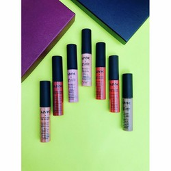 Set 7 son kem Nyx Intense Butter Lip Gloss Vault