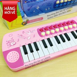 Đàn piano mini cho bé - Đàn organ có mic cho bé