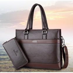 Túi xách nam đựng laptop công sở 2119 I Túi xách - ví - balo kacana