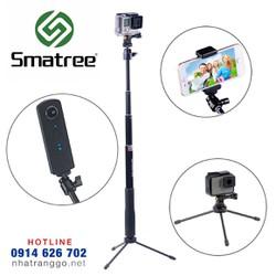 Gậy tự sướng Smatree SmaPole Q3 kèm Tripod cho GoPro điện thoại