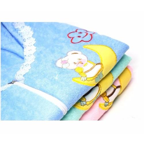 Túi ngủ cho bé phối dây kéo