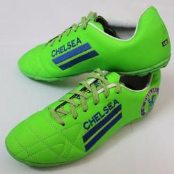 Giày đá banh sân cỏ màu xanh C