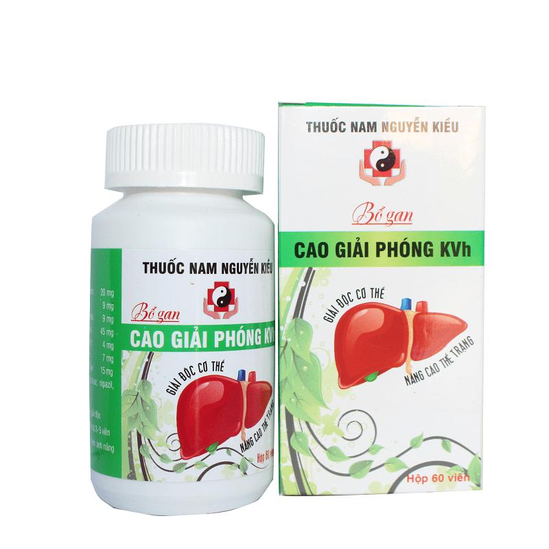 Cao giải phóng KVH - Bổ gan, giải độc cơ thể, tăng cường chức năng gan 1