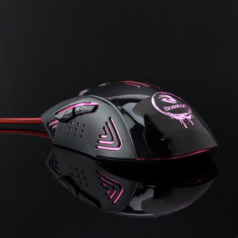 CHUỘT MOUSE BOSTON GM200 LED GAME 4