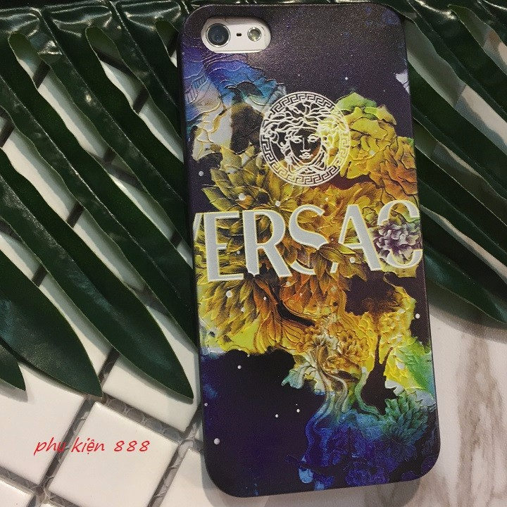 Ốp lưng Iphone 5 6 7Plus dẻo Versace. 2