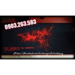 Bàn Di Chuột Game cỡ lớn Full Bàn Phím Chuột BIG SiZE Razer Zone Red