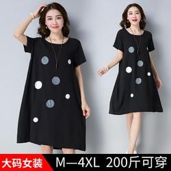 Đầm suông chấm bi 3D0704