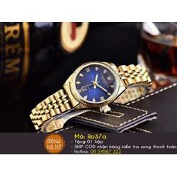 Đồng hồ nữ thời trang dây vàng