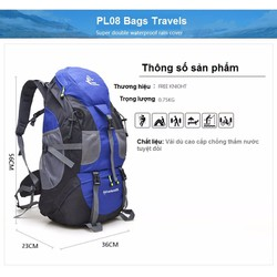 Balo du lịch leo núi chống nước cao cấp PL08