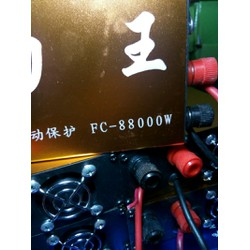 Máy kích cá FC88000W 6FET