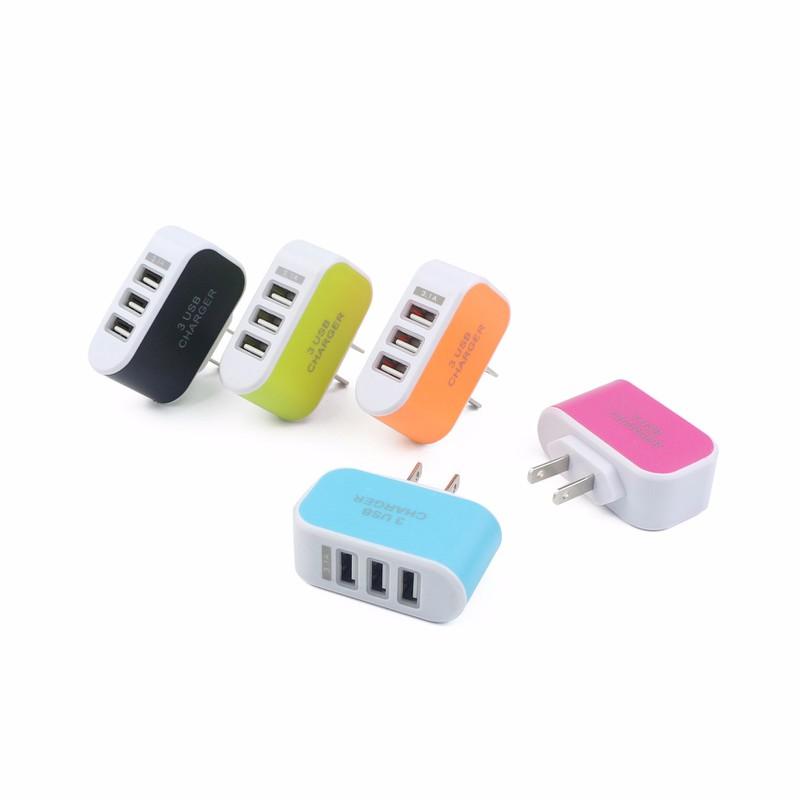 Cốc sạc 3 cổng USB 3.1A tiện ích 2