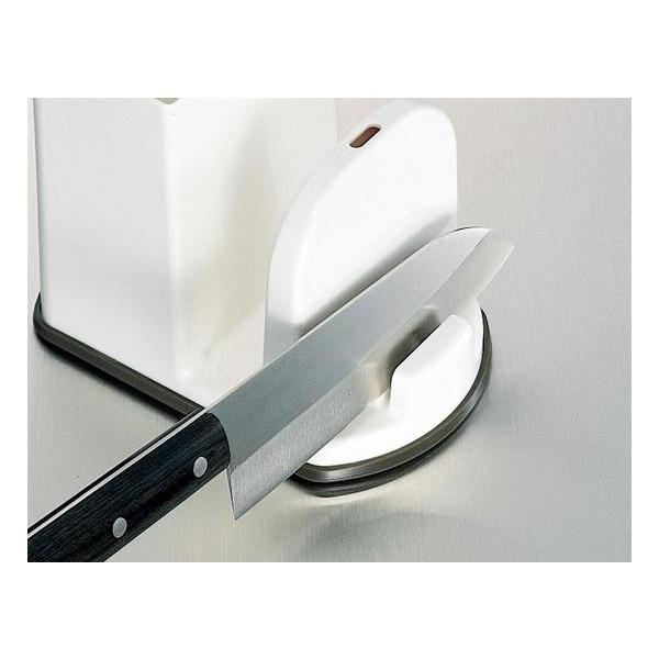 Giá để dao, thớt, đũa thìa kèm mài dao 3