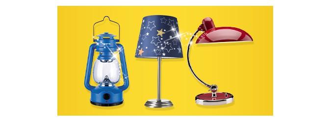 Đèn bàn, đèn ngủ
