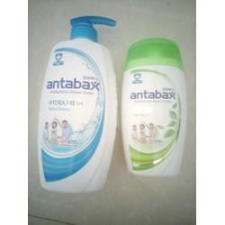 Bộ đôi sữa tắm kháng khuẩn antabax