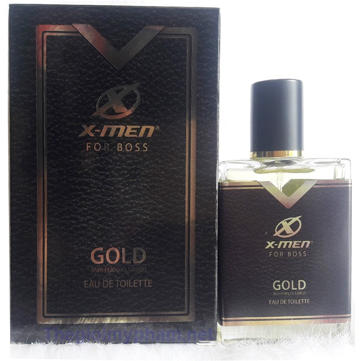 Nước Hoa X-Men-For-Boss Gold 50ml 3
