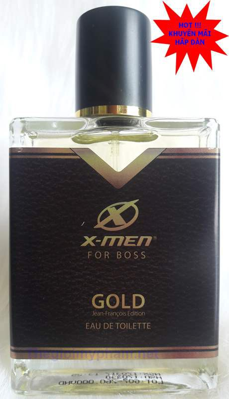 Nước Hoa X-Men-For-Boss Gold 50ml 1