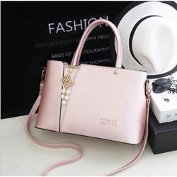 Túi xách thời trang KLY02 màu hồng -AL XANH