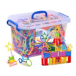 Bộ đồ chơi xếp hình que sáng tạo cho bé