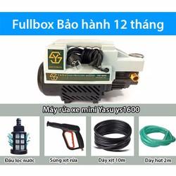Máy rửa xe mini Yasu ys1600 áp lực 80bar~1 ngựa mạnh