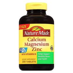 SẢN PHẨM BỔ SUNG VITAMIN - NATURE MADE CALCIUM, MAGNESIUM, ZINC