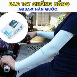 Bao tay chống nắng Hàn Quốc Aqua-X - Có xỏ ngón
